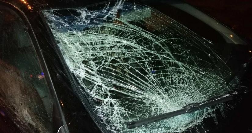 На обледеневших дорогах Баку произошло свыше 40аварий