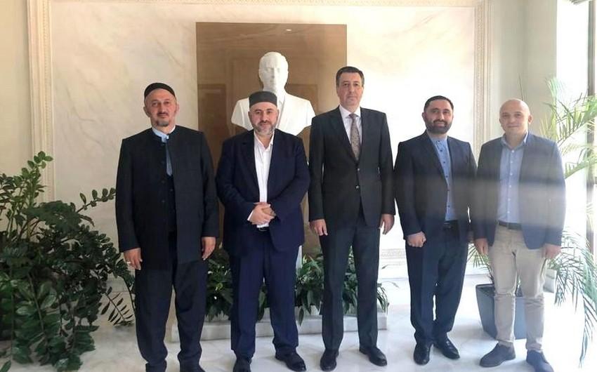 Azərbaycan səfiri Gürcüstanın müsəlman din rəhbərləri ilə görüşüb
