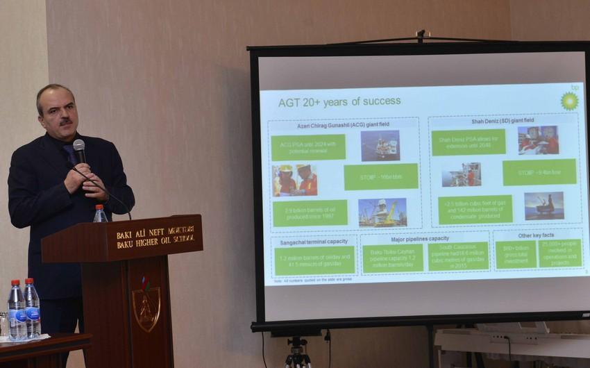 BP-Azərbaycanın vitse-prezidenti BANM-də təqdimatla çıxış edib