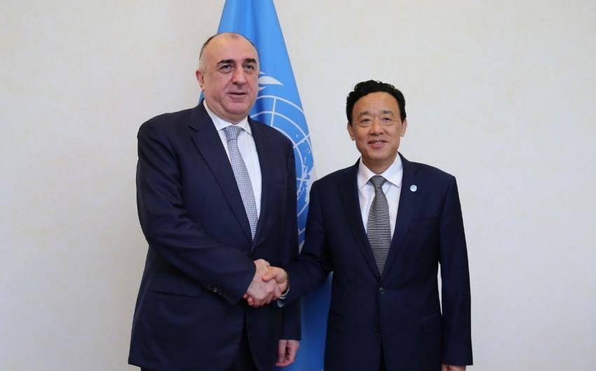 Elmar Məmmədyarov Romada FAO-nun baş direktoru ilə görüşüb