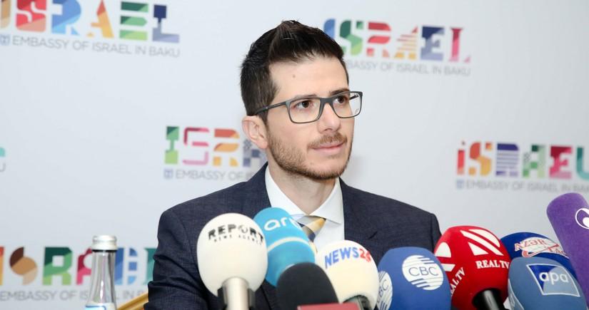 Israeli ambassador congratulates Azerbaijan
