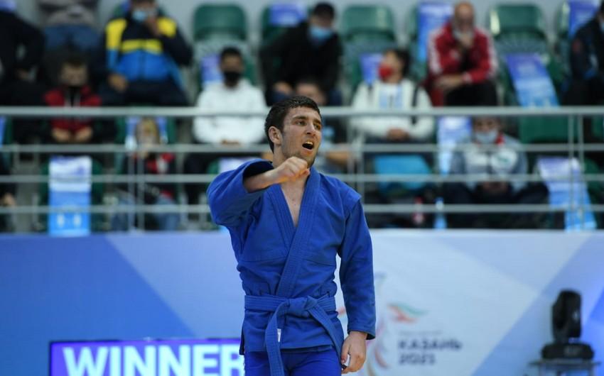 MDB Oyunları: Azərbaycan samboçuları 3-cü qızıl medalı qazanıb