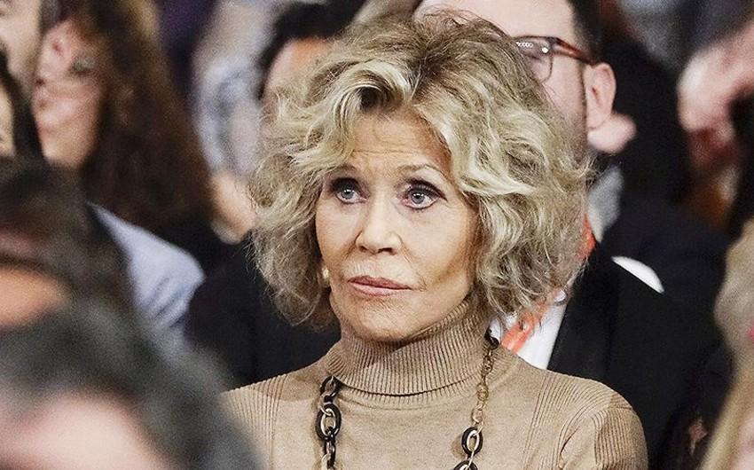 Məşhur aktrisa Ceyn Fonda Trampı Hitlerlə müqayisə edib