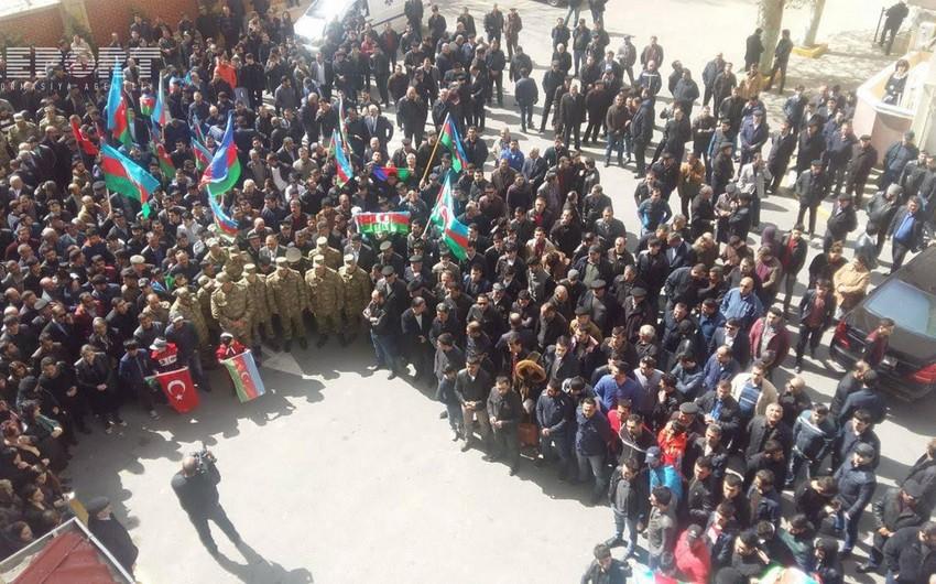 Полковник азербайджанской армии и его подчиненный похоронены на Аллее шехидов в Сумгайыте - ОБНОВЛЕНО - ФОТО