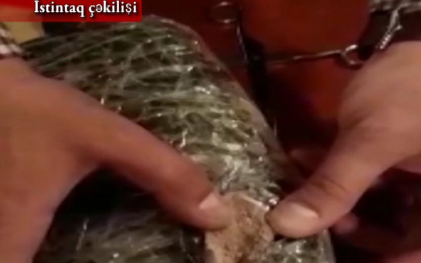 Bakıda 2 kiloqramdan çox heroin satmaq istəyən keçmiş məhkum saxlanılıb