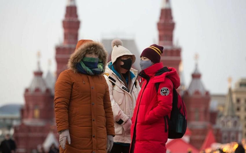 Rusiyada koronavirusa yoluxanların sayı 400 mini ötdü