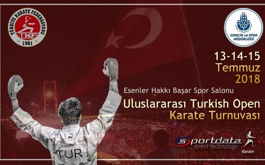 """Azərbaycan karateçiləri """"Turkish Open""""də 9 medal qazanıblar"""