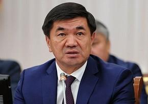 Qırğızıstanın sabiq baş naziri saxlanıldı