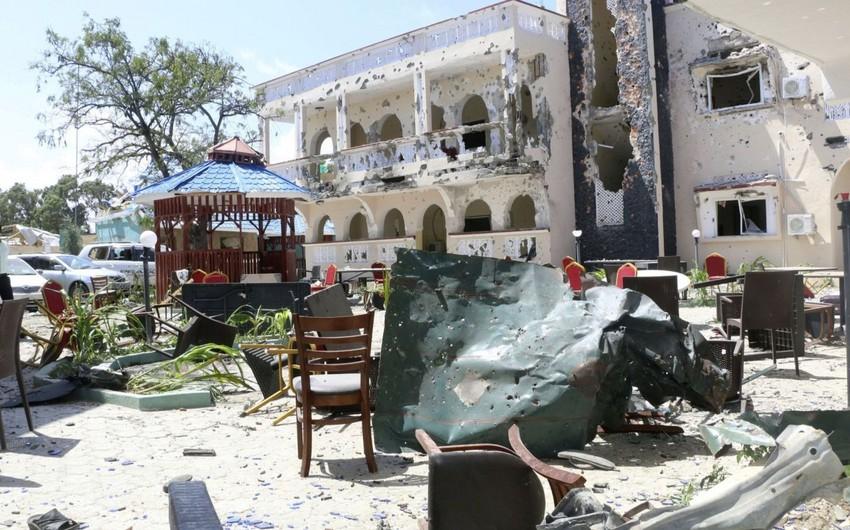 Somalidə otelə edilən terror hücumunda ölənlərin sayı 10-a yüksəldi