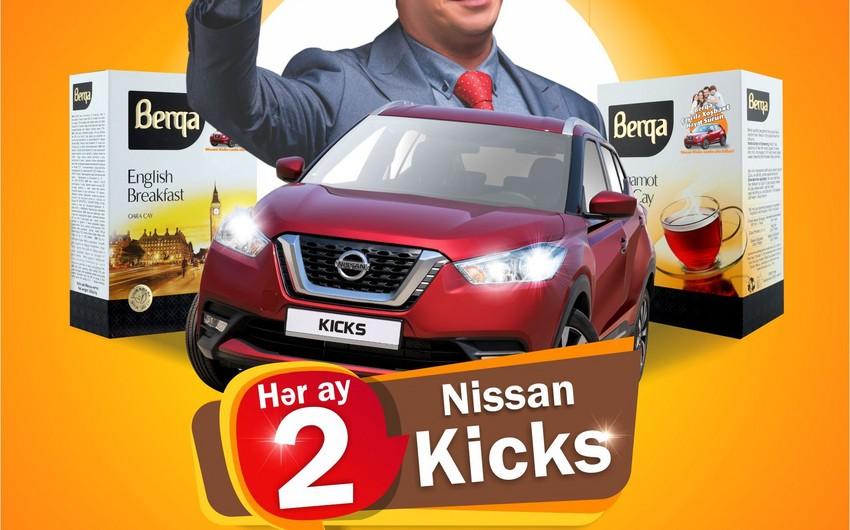 """""""Berqa"""" müştərilərinə 6 Nissan Kicks qazandıracaq"""