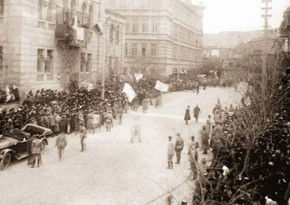 102 years pass since liberation of Baku from Armenian-Bolshevik occupation