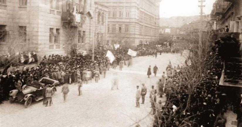 102 years pass since liberation of Baku from Armenian-Bolshevik occupation