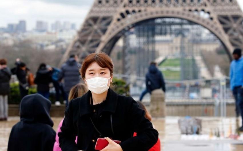 Fransada koronavirusdan ölənlərin sayı 6-ya çatdı