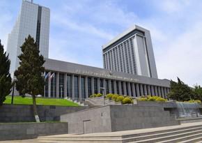 Milli Məclisin dekabrın 24-də keçiriləcək iclasının gündəliyi açıqlandı