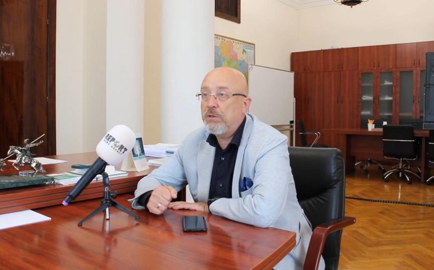 Reznikov: Azerbaijan's liberation of its territories confirms internationally recognized world order - INTERVIEW
