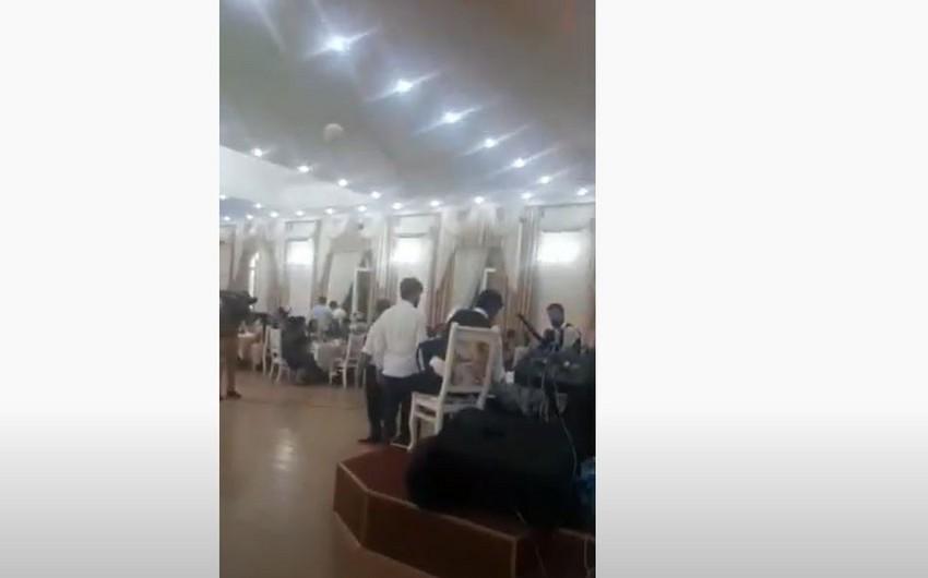 Abşeronda karantin qaydalarını pozan şadlıq sarayları cərimələnib - VİDEO