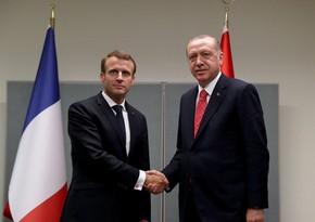Erdogan announces successful negotiations with Macron