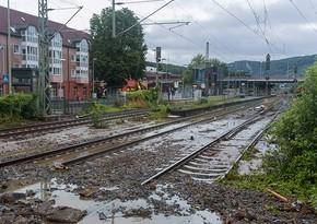 Железнодорожное сообщение ФРГ с Чехией прервано из-за наводнения