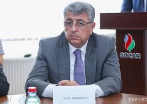 """Xalik Məmmədov: """"SOCAR enerji şirkətləri sırasında özünə layiqli yer tutub"""""""