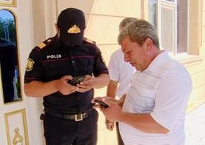 Tovuzda polis şadlıq saraylarında monitorinq keçirib