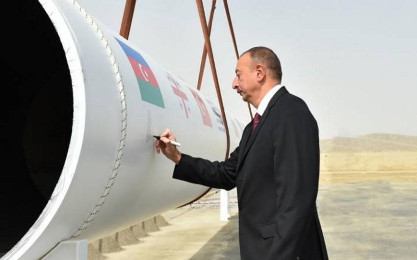 Prezident: 2020-ci ildə Azərbaycan qazı Avropa bazarına çıxarılacaq