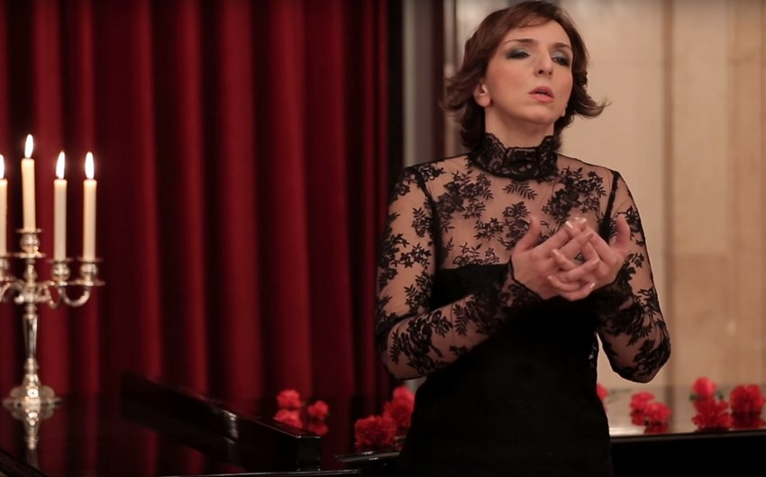 Serbian opera singer performs 'Elegy' in memory of Khojaly tragedy victims - VIDEO