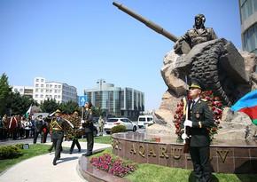 Azerbaijani National Hero Albert Agarunov's memory honored in Baku
