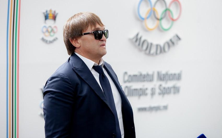 Moldova Paralimpiya Komitəsinin prezidenti Yenilməzlər Beynəlxalq Qala Təqdimatına gəlib