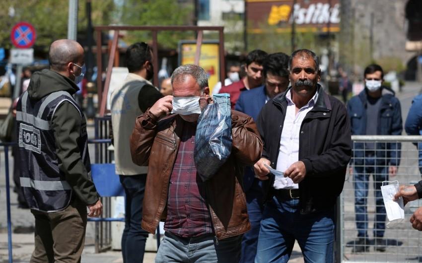 Türkiyədə koronavirusa yoluxanların sayı 130 mini ötdü - STATİSTİKA