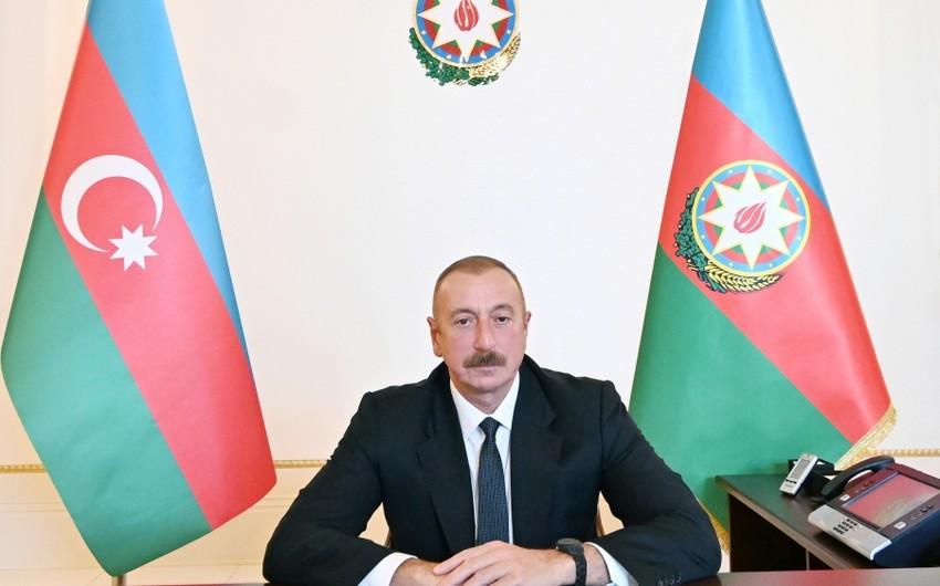 İlham Əliyev Bosniya və Herseqovinanın dövlət başçısına təşəkkür edib