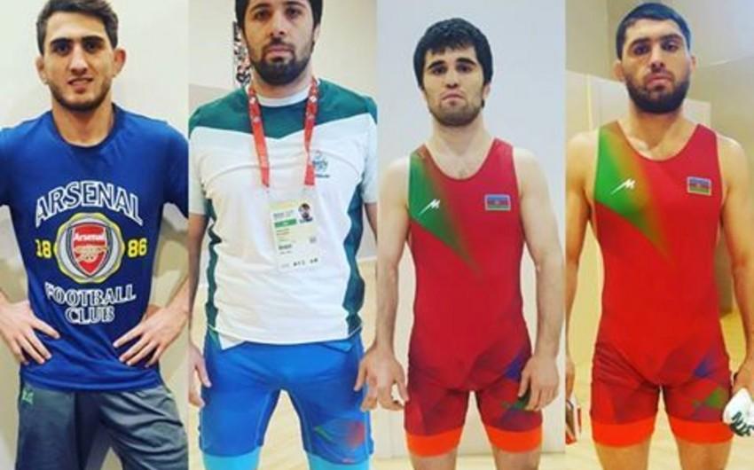 İslamiada: Azərbaycan sərbəst güləşçiləri 4 qızıl, 2 gümüş, 1 bürünc medal qazanıblar - YENİLƏNİB-4