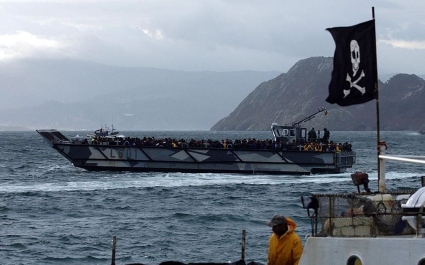 Azərbaycanlı dənizçinin öldürüldüyü gəmiyə kömək qrupu Qabona çatıb