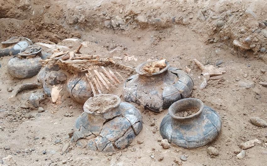 В Кешикчидаг обнаружены большие курганы бронзового периода