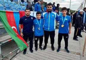 Dünya çempionatı: Azərbaycan güləşçiləri qızıl və gümüş medal qazanıblar