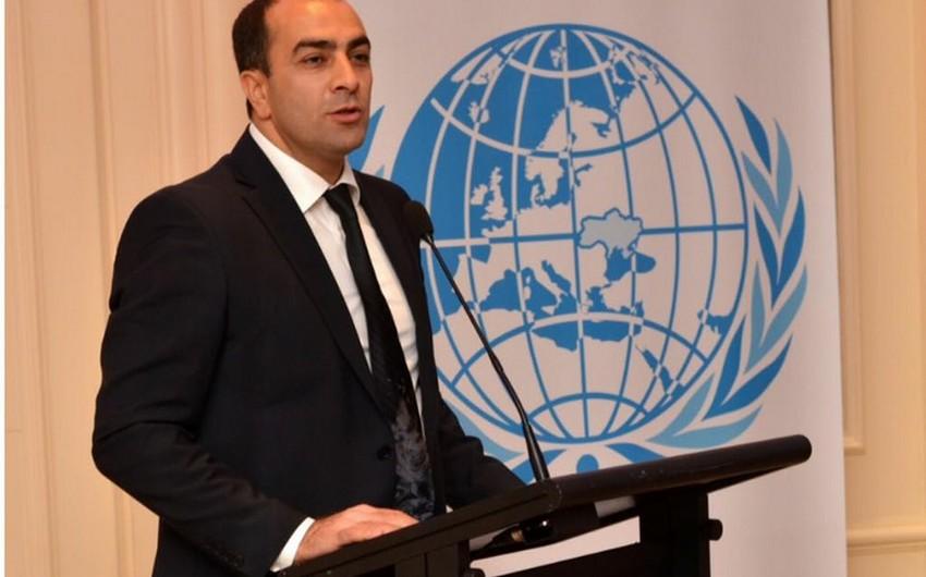 Ukrayna parlamentinin sədri Azərbaycan diaspor rəhbərini ali mükafatla təltif edib