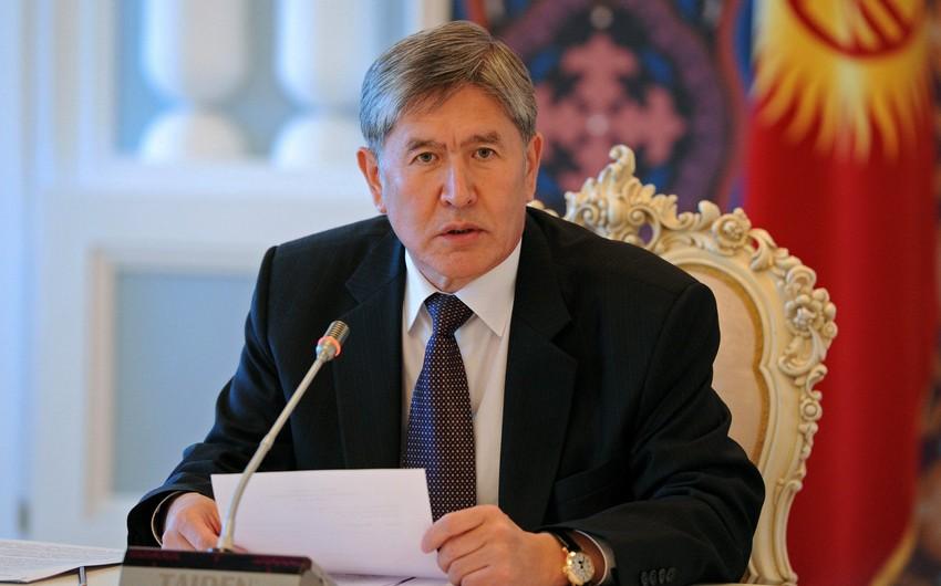 Qırğızıstan prezidenti yeni klipini təqdim edib - VİDEO