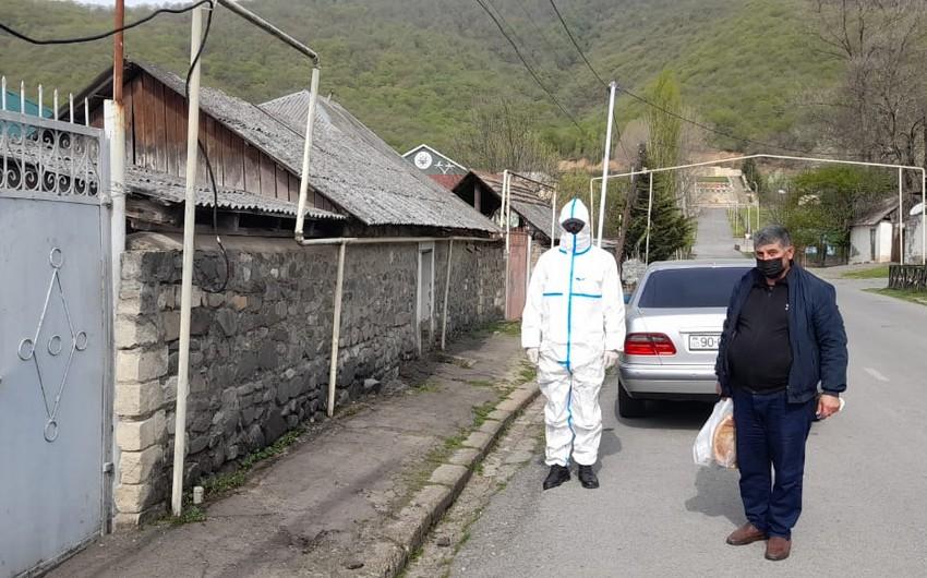 Oğuzda COVID-19 xəstəsi ictimai yerdə saxlanıldı