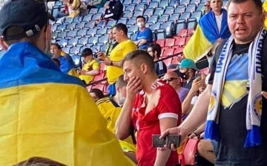 AVRO-2020: Rusiyalı azarkeşə hücum edən ukraynalı fanat tutuldu
