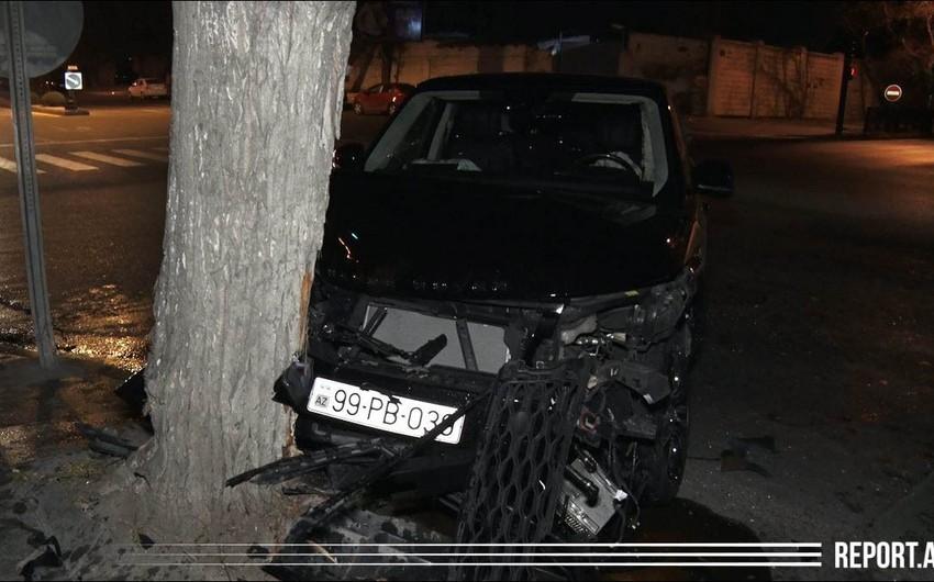 Авария в столице, пострадала женщина - ФОТО