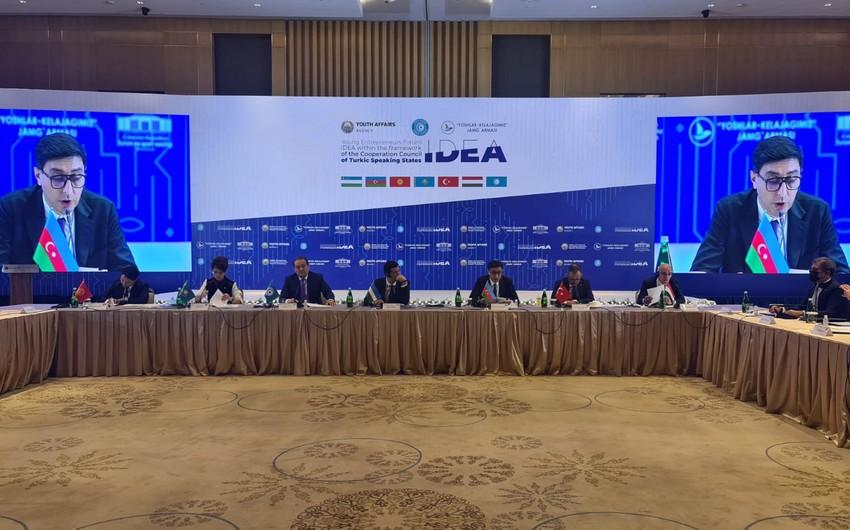 Министр молодежи и спорта Азербайджана принимает участие на заседании Тюркского совета