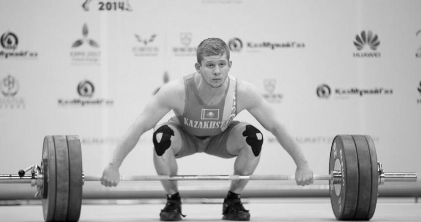 Умер 26-летний казахстанский тяжелоатлет