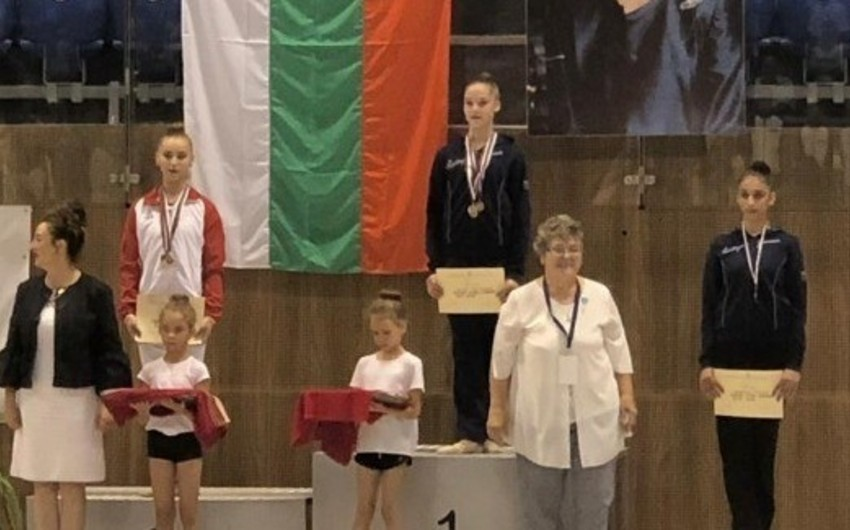 Azərbaycan gimnastları Varnada 5 medal qazanıblar