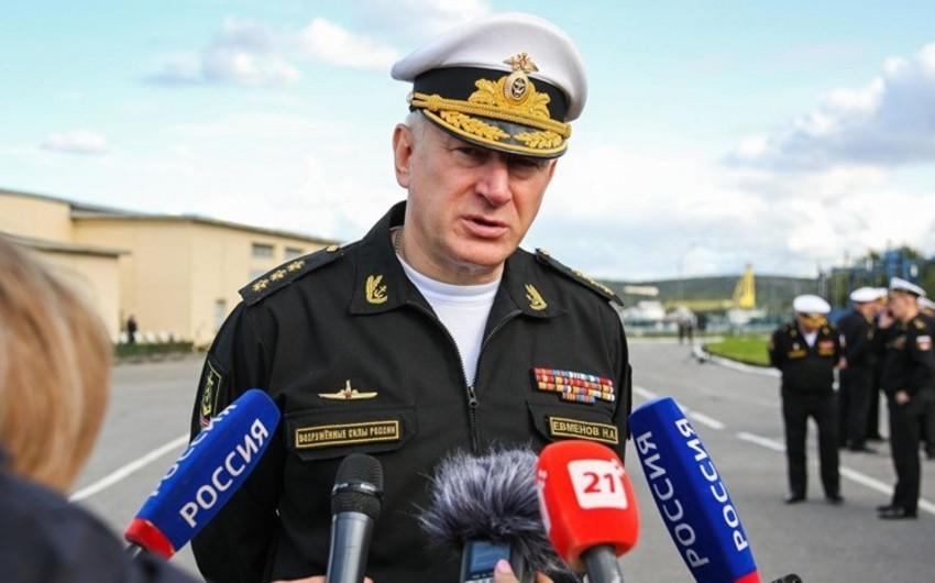 Rusiya Hərbi Dəniz Donanmasına yeni baş komandan təyin edilib