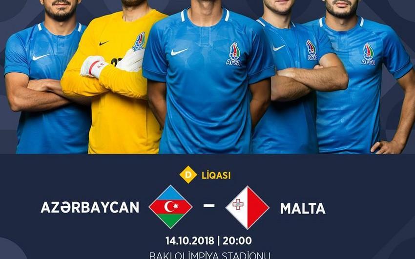 Выставлены на продажу билеты на матч Азербайджан - Мальта