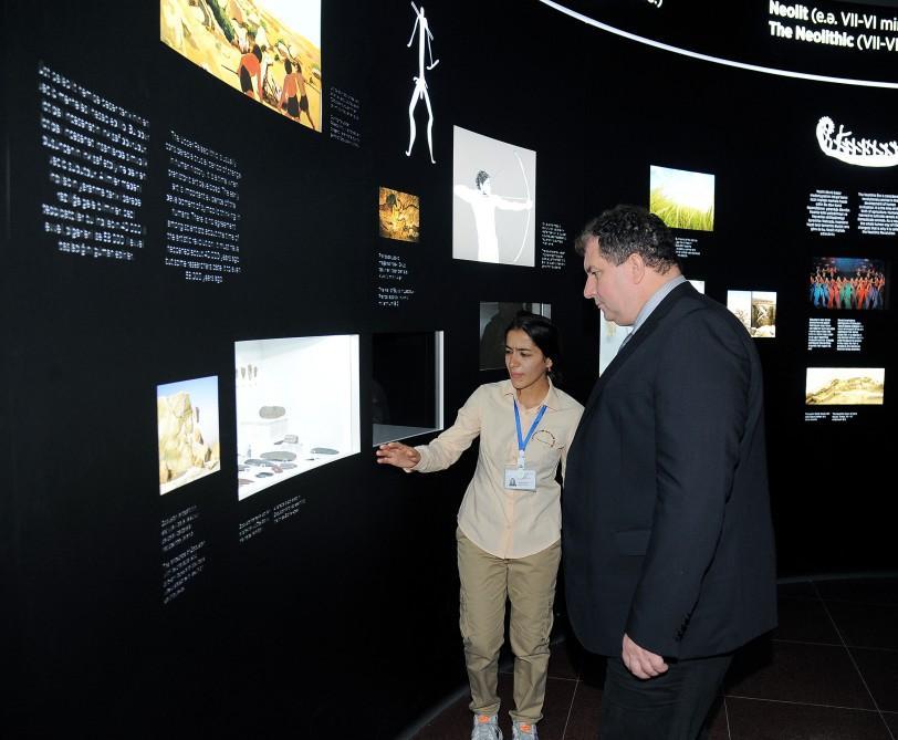 Husband of Croatian President visited Gobustan State Reserve