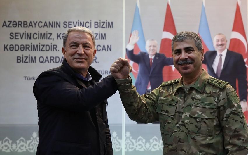 Hulusi Akar: Roadmap for modernization of Azerbaijani army prepared