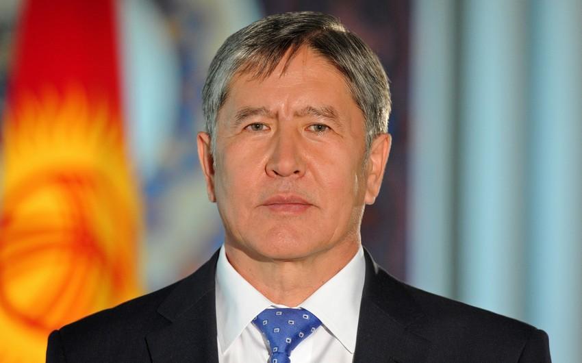 Qırğız Respublikasının prezidenti müalicədən sonra ölkəsinə dönüb