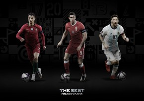 FIFA The Best mükafatı üçün finalçıları açıqladı
