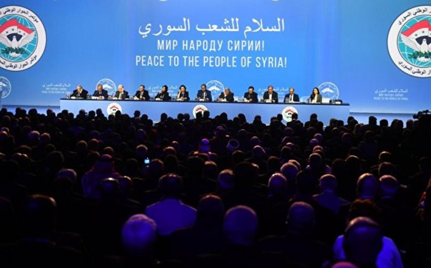 Suriyaya dair Milli Dialoq Konqresində Konstitusiya Komissiyası yaradılacaq