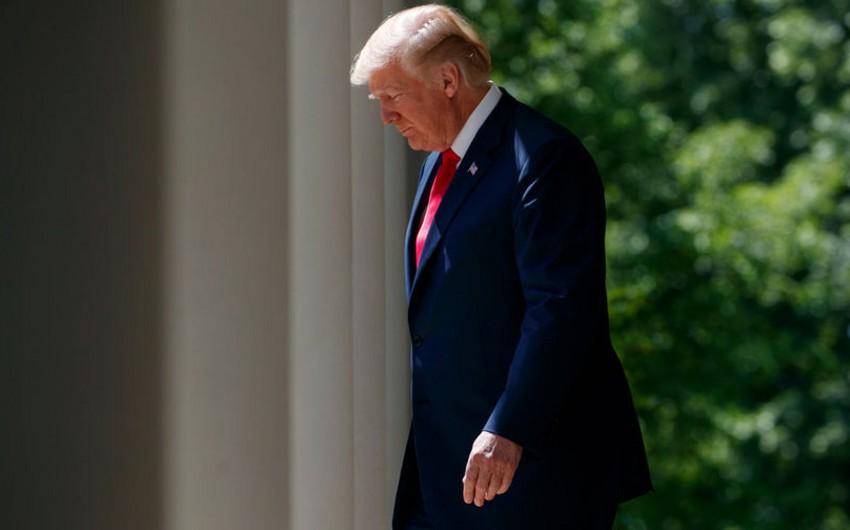 Tramp ABŞ-ın İranla bağlı nüvə sövdələşməsindən çıxdığını elan edib